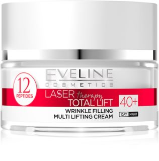 Eveline Cosmetics Laser Therapy Total Lift dnevna in nočna krema proti gubam 40+