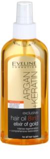 Eveline Cosmetics Argan + Keratin Hair Oil 8 In 1