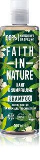 Faith In Nature Hemp & Meadowfoam shampoing rénovateur pour cheveux normaux à secs