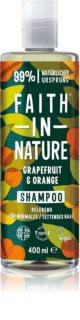 Faith In Nature Grapefruit & Orange Luonnollinen Hiustenpesuaine Normaalista Rasvoittuville Hiuksille