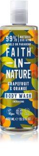 Faith In Nature Grapefruit & Orange Gel de duș energizant