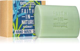 Faith In Nature Hand Made Soap Rosemary jabón natural en barra