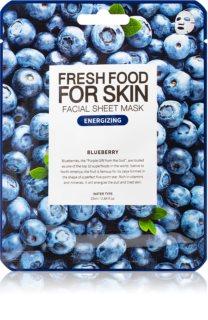 Farm Skin Fresh Food For Skin BLUEBERRY maseczka płócienna