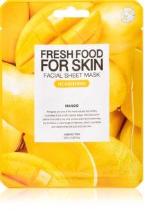 Farm Skin Fresh Food For Skin MANGO maska odżywcza w płacie