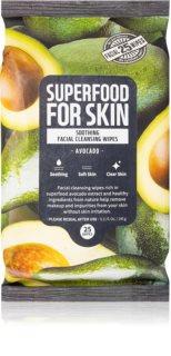 Farm Skin Super Food For Skin chusteczki oczyszczające