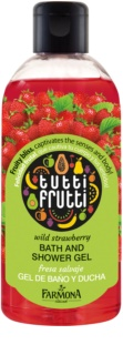 Farmona Tutti Frutti Wild Strawberry Shower And Bath Gel