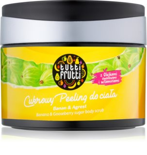 Farmona Tutti Frutti Banana & Gooseberry cukrový telový peeling