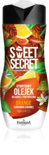 Farmona Sweet Secret Orange olejek pod prysznic i do kąpieli