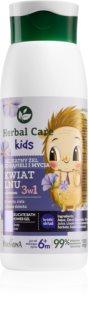 Farmona Herbal Care Kids Dusch-gel för ansikte, kropp och hår 3-i-1