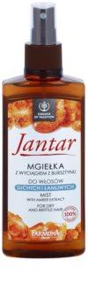 Farmona Jantar mgiełka regenerująca do włosów suchych i łamliwych