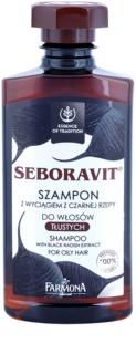 Farmona Seboravit σαμπουάν για λιπαρά μαλλιά και το δέρμα της κεφαλής