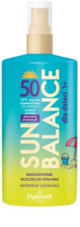 Farmona Sun Balance protector solar para niños SPF 50