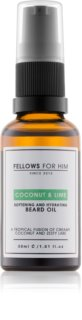 Fellows for Him Coconut & Lime ulei pentru barba