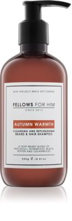 Fellows for Him Autumn Warmth šampon na vlasy a vousy