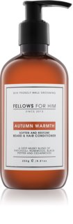 Fellows for Him Autumn Warmth haj és szakáll  kondicionáló