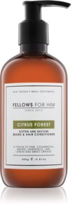 Fellows for Him Citrus Forest Hair and Beard Conditioner