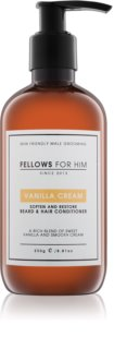 Fellows for Him Vanilla Cream haj és szakáll  kondicionáló