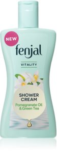 Fenjal Vitality Pomegranate Oil & Green Tea Revitalizing Shower Cream