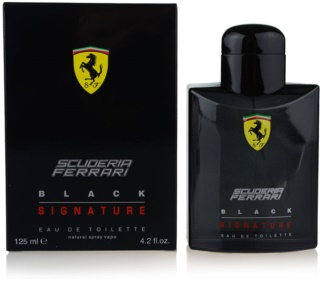 Ferrari Scuderia Ferrari Black Signature eau de toilette sample for Men