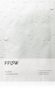 FFLOW Oilsoo Calming Mask Zellschichtmaske mit feuchtigkeitsspendender und beruhigender Wirkung