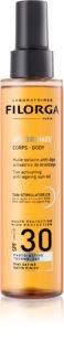 Filorga UV-Bronze защитное сухое масло для поддержания загара SPF 30