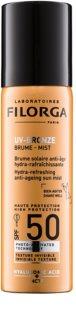 Filorga UV-Bronze защитная увлажняющая и освежающая дымка против признаков старения кожи SPF 50