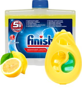 Finish Dishwasher Cleaner Lemon set at a reduced price