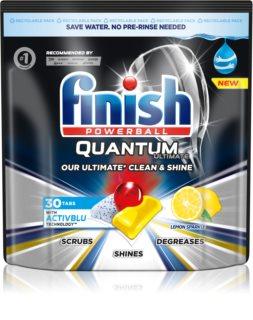Finish Quantum Ultimate Lemon Sparkle kapsule za perilicu posuđa