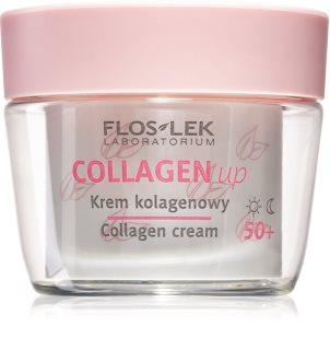 FlosLek Laboratorium Collagen Up crème jour et nuit anti-rides 50+