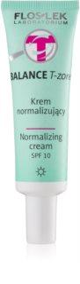 FlosLek Laboratorium Balance T-Zone Normalizing Day Cream SPF 10