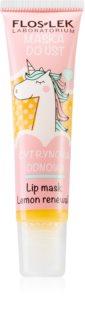 FlosLek Laboratorium Lemon Renewal Maske für Lippen