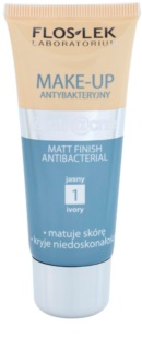 FlosLek Laboratorium Anti Acne Mattifying Foundation For Oily Acne - Prone Skin