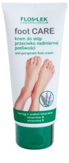 FlosLek Laboratorium Foot Care crème pieds anti-transpiration excessive