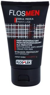 FlosLek Laboratorium FlosMen ревитализиращ крем за лице с анти-бръчков ефект