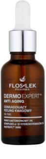 FlosLek Pharma DermoExpert Acid Peel fiatalító éjszakai ápolás hámlasztó hatással