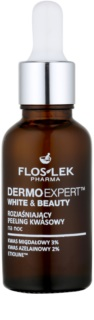 FlosLek Pharma DermoExpert Acid Peel Brightening Night Treatment for Pigment Spots Correction