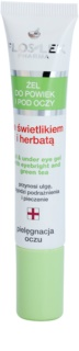 FlosLek Pharma Eye Care gel contorno occhi all'euphrasia e the verde