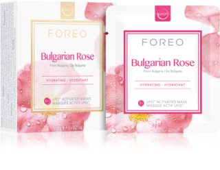 FOREO Farm to Face Bulgarian Rose vlažilna maska