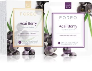 FOREO Farm to Face Acai Berry Mjukgörande mask