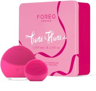 FOREO Here & There Set Gift Set (For Perfect Skin Cleansing)