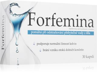 Forfemina Slim doplněk stravy pro podporu odstranění přebytečné vody z těla