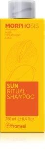 Framesi Morphosis Sun Ritual hydratačný šampón pre vlasy namáhané slnkom