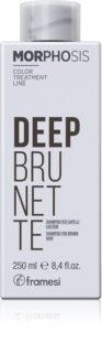 Framesi Morphosis Deep Brunette hydratačný šampón pre hnedé odtiene vlasov