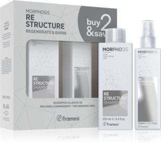 Framesi Morphosis Re-structure výhodné balení (pro suché a poškozené vlasy)