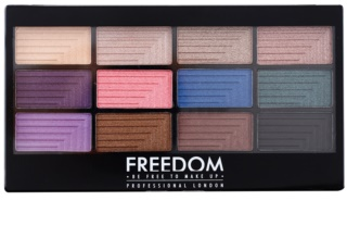 Freedom Pro 12 Dreamcatcher Lidschatten-Palette mit einem  Applikator