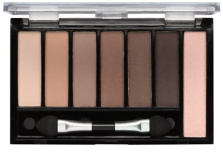Freedom Pro Shade & Brighten Mattes Kit 1 Eyeshadow Palette with Highlighter