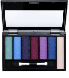 Freedom Pro Shade & Brighten Play Eyeshadow Palette with Highlighter