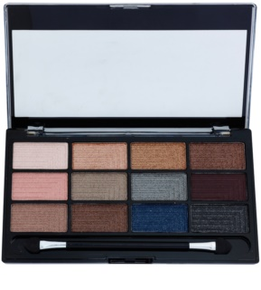 Freedom Pro 12 Romance and Jewels palette di ombretti con applicatore