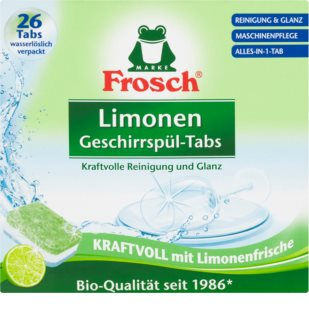 Frosch All in One Limonen dishwasher tablets