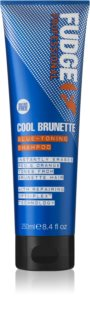 Fudge Care Cool Brunette Shampoo Til brunt til mørkt hår